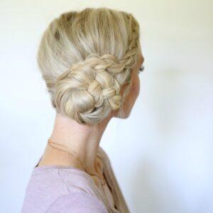 Easy Braided Bun | Cute Girls Hairstyles