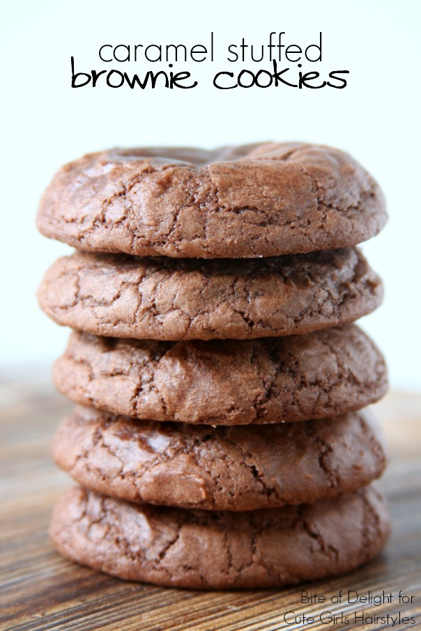 Caramel Stuffed Brownie Cookies | CGH Lifestyle