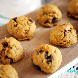 Pumpkin Chocolate Chip Cookies | CGH Lifestyle