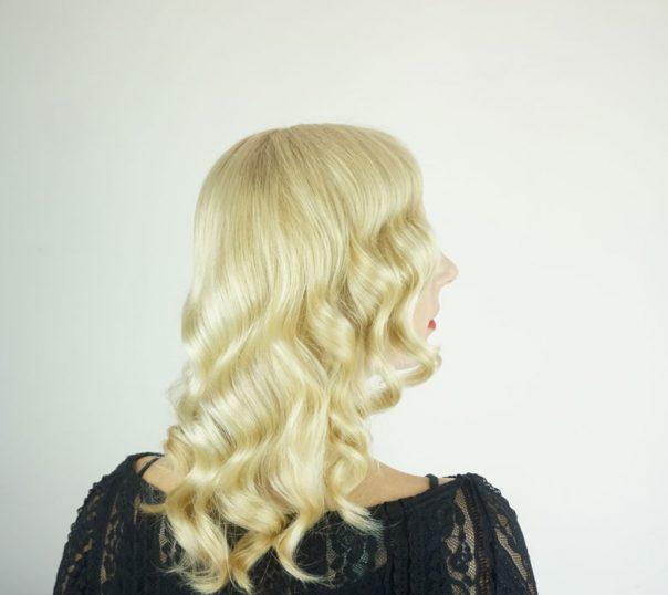 DIY Vintage glam waves