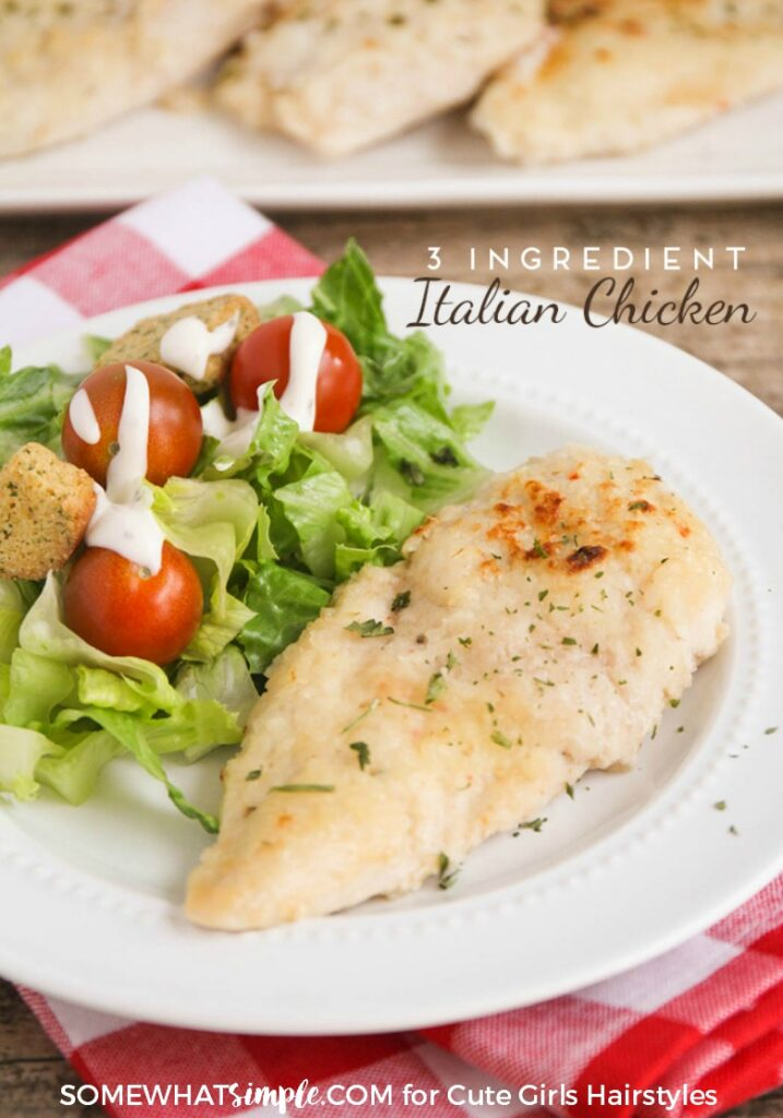 Italian Chicken | CGH Lifestyle