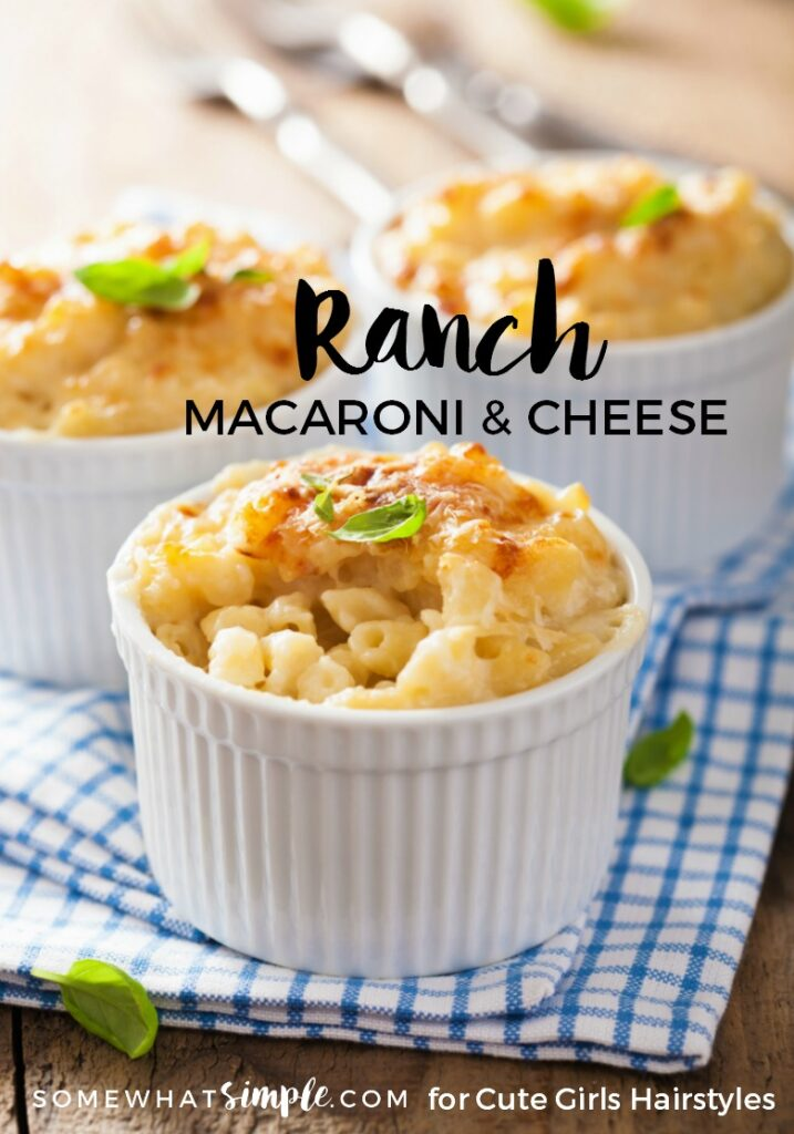 Ranch Macaroni and Cheese | CGH Lifestyle