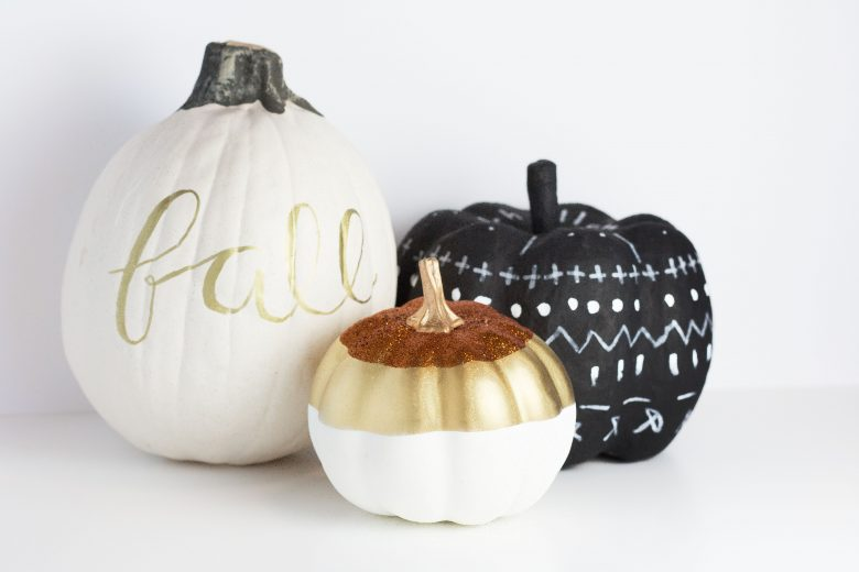3 No-Carve Pumpkin DIYs