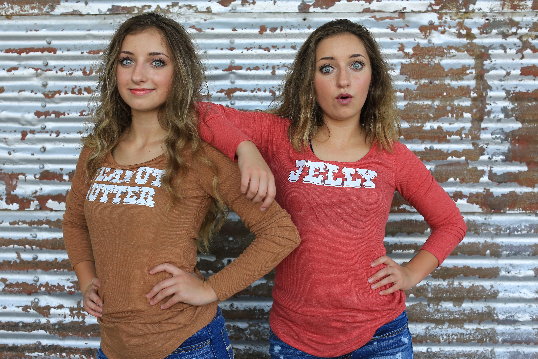Matching Best Friend Shirts Ready to be Customized