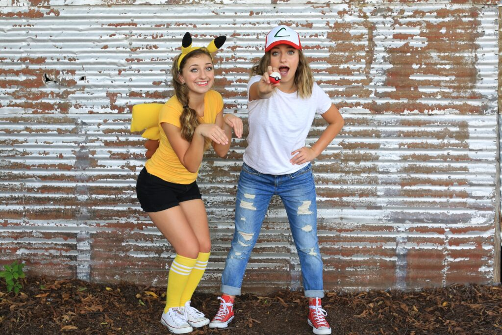 Pikachu & Ash Costume | CGH | Brooklyn & Bailey