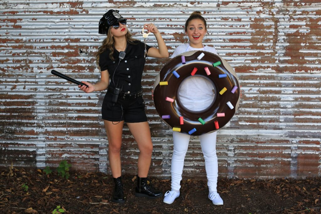 Police Man & Donut Costume | CGH | Brooklyn & Bailey