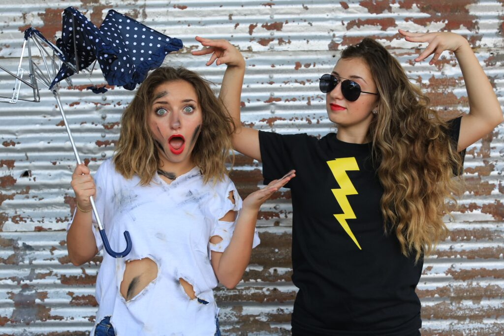 Lightening & Fried Costume | CGH | Brooklyn & Bailey