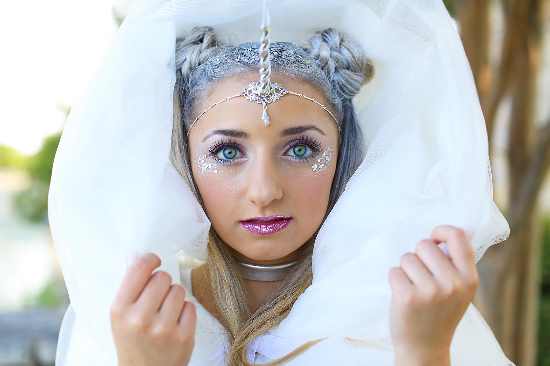 Unicorn Half-Up  DIY Halloween Costume - Cute Girls Hairstyles