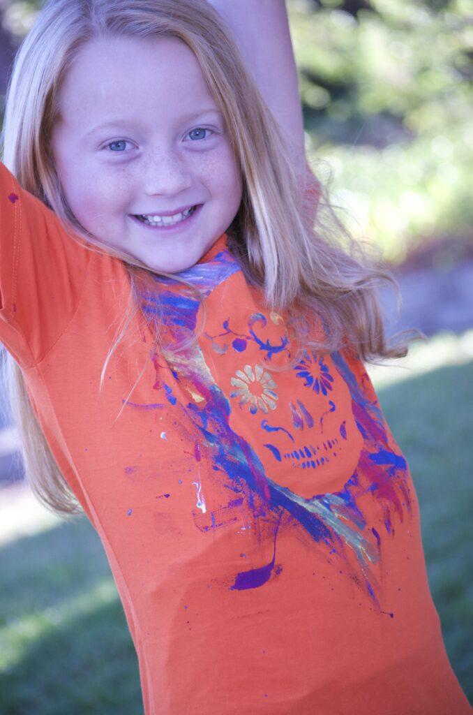 Paint Splatter Tshirt | CGH Lifestyle