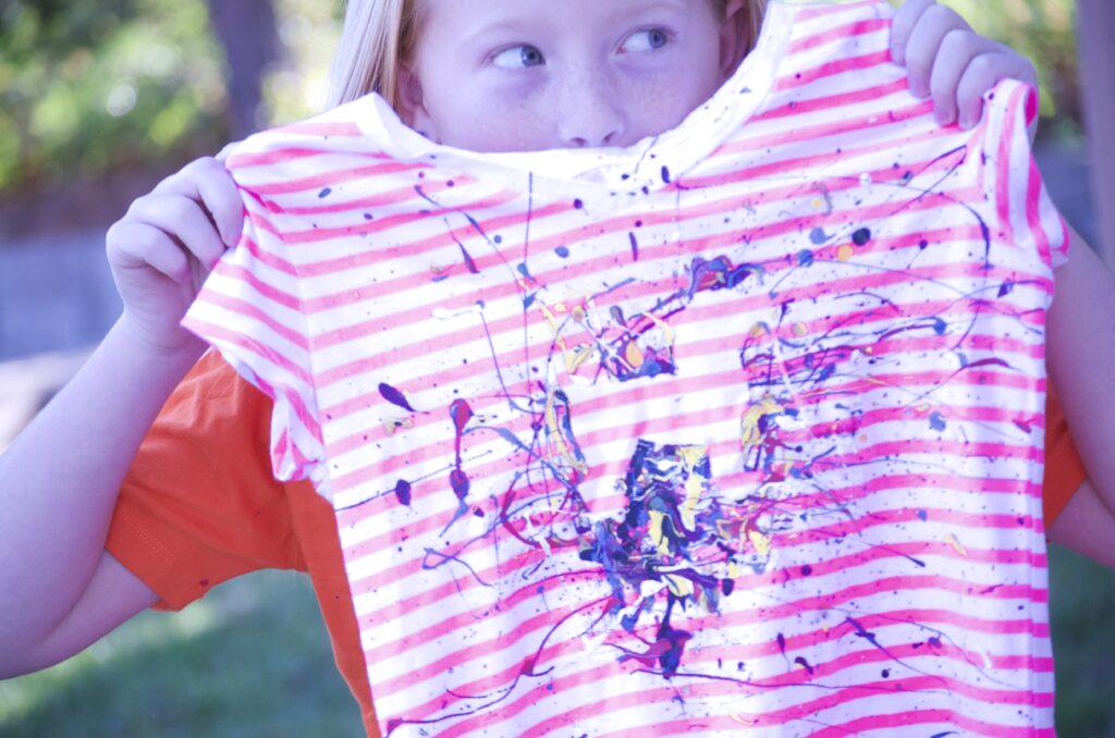 Paint Splatter DIY | CGH Lifestyle