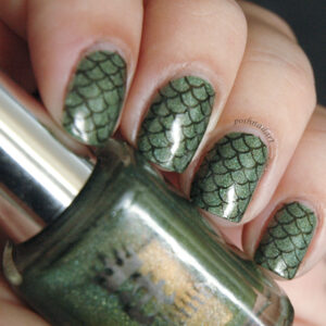 Animal Print Manicures - Dragon Scale Nails