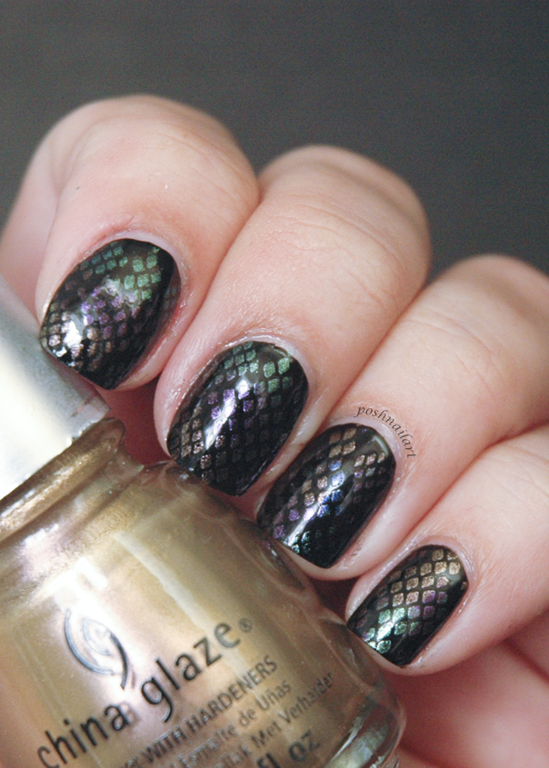 Snake Skin Nails- CGH Lifestyle