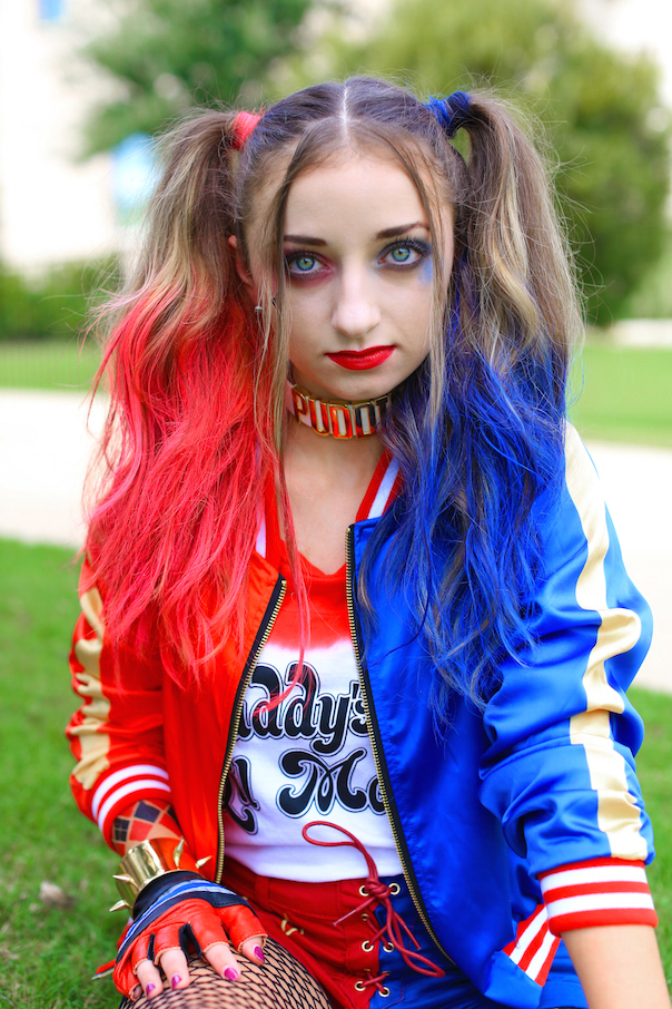 Harley Quinn Pigtails | Cute Girls Hairstyles
