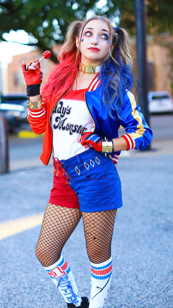 Harley Quinn | Halloween | Cute Girls Hairstyles
