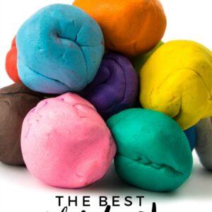 The Best Homemade Play Dough Recipe