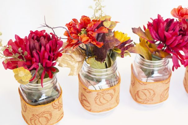 DIY Mason Jar Fall Decor | CGH Lifestyle