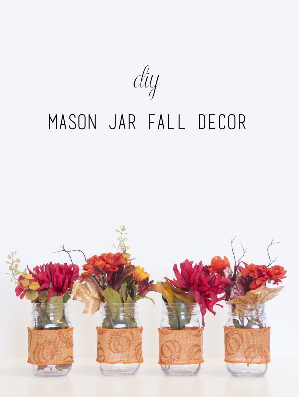 Mason Jar Decor | CGH Lifestyle