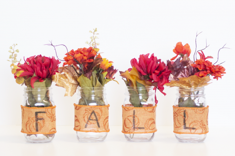 DIY Mason Jar Fall Decor