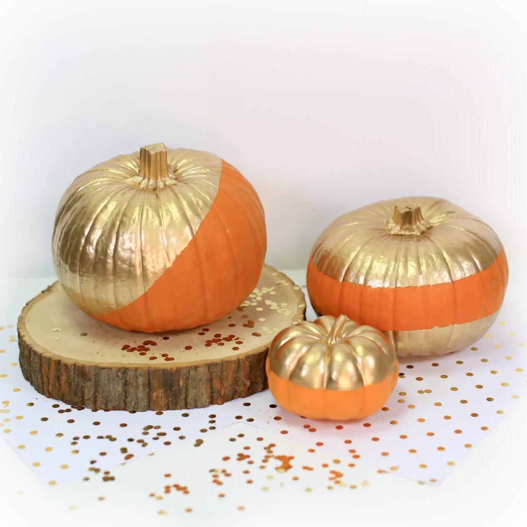 Metallic Pumpkins | Kamri Noel | CGH