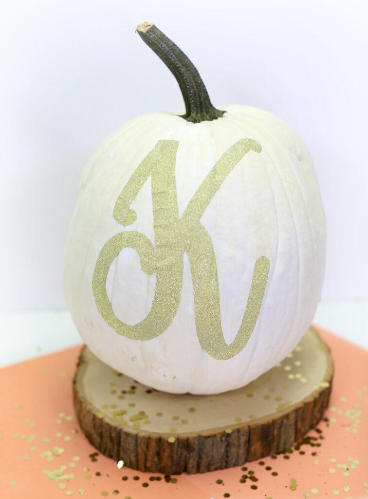 Monogram Pumpkin | Kamri Noel | CGH
