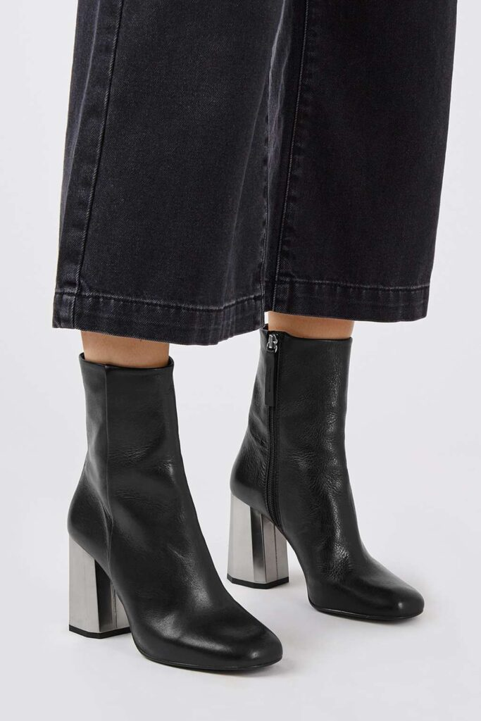 TopShop Black Ankle Boot | CGH Lifestyle