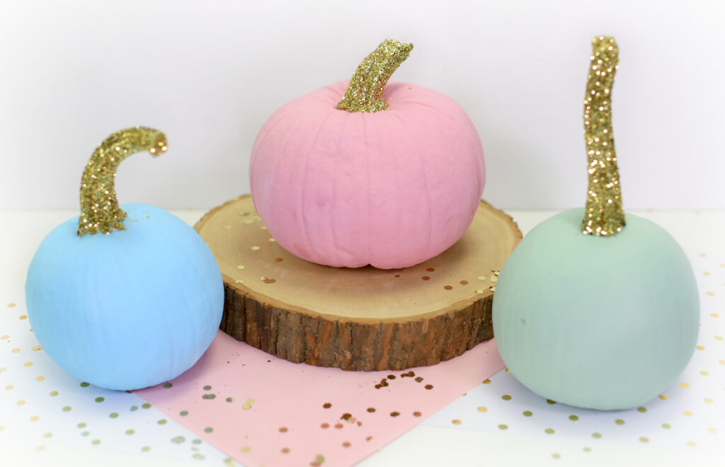 Glitter Stem Pumpkins | Kamri Noel | CGH