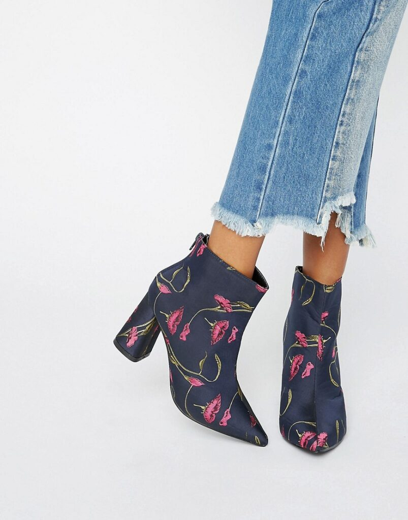 Floral Ankle Boot | CGH Lifestyle