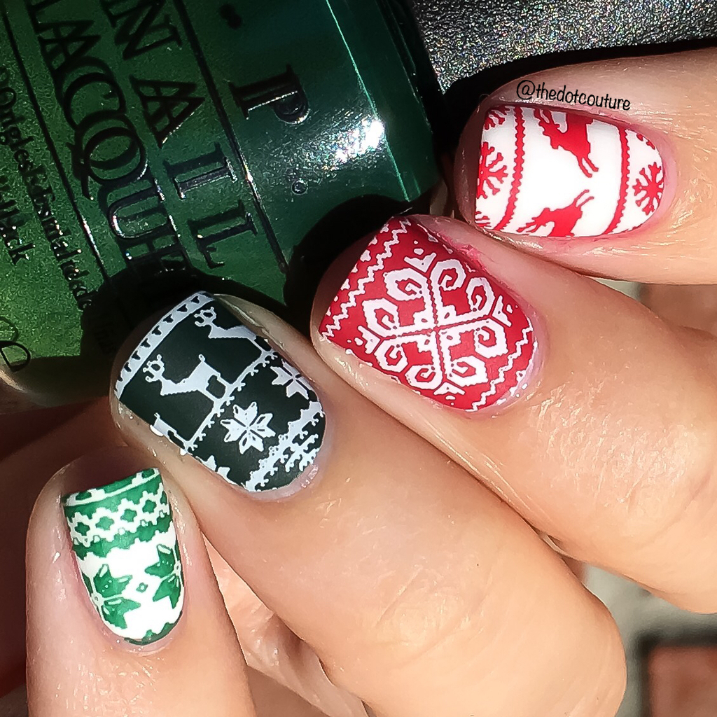 Sweater Print Nails | CGH Lifestyle