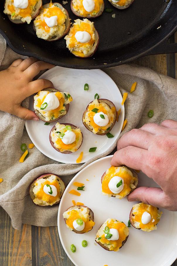 Twice Baked Potato Bites | CGH Lifestyle