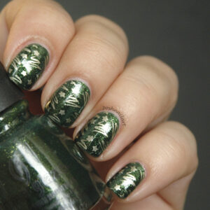 Dragon Scale Nail Art