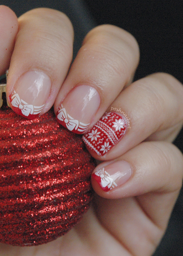 Holiday Sweater Nails | CGH Lifestyle