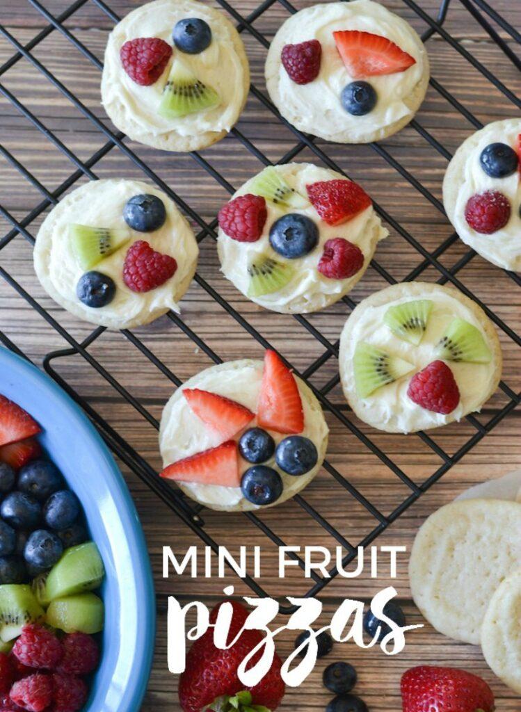 Mini Fruit Pizza | CGH Lifestyle
