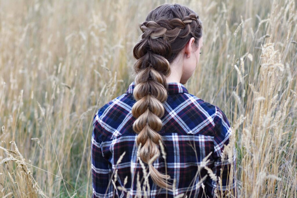 Wrapped Pull Thru   Cute Girls Hairstyles
