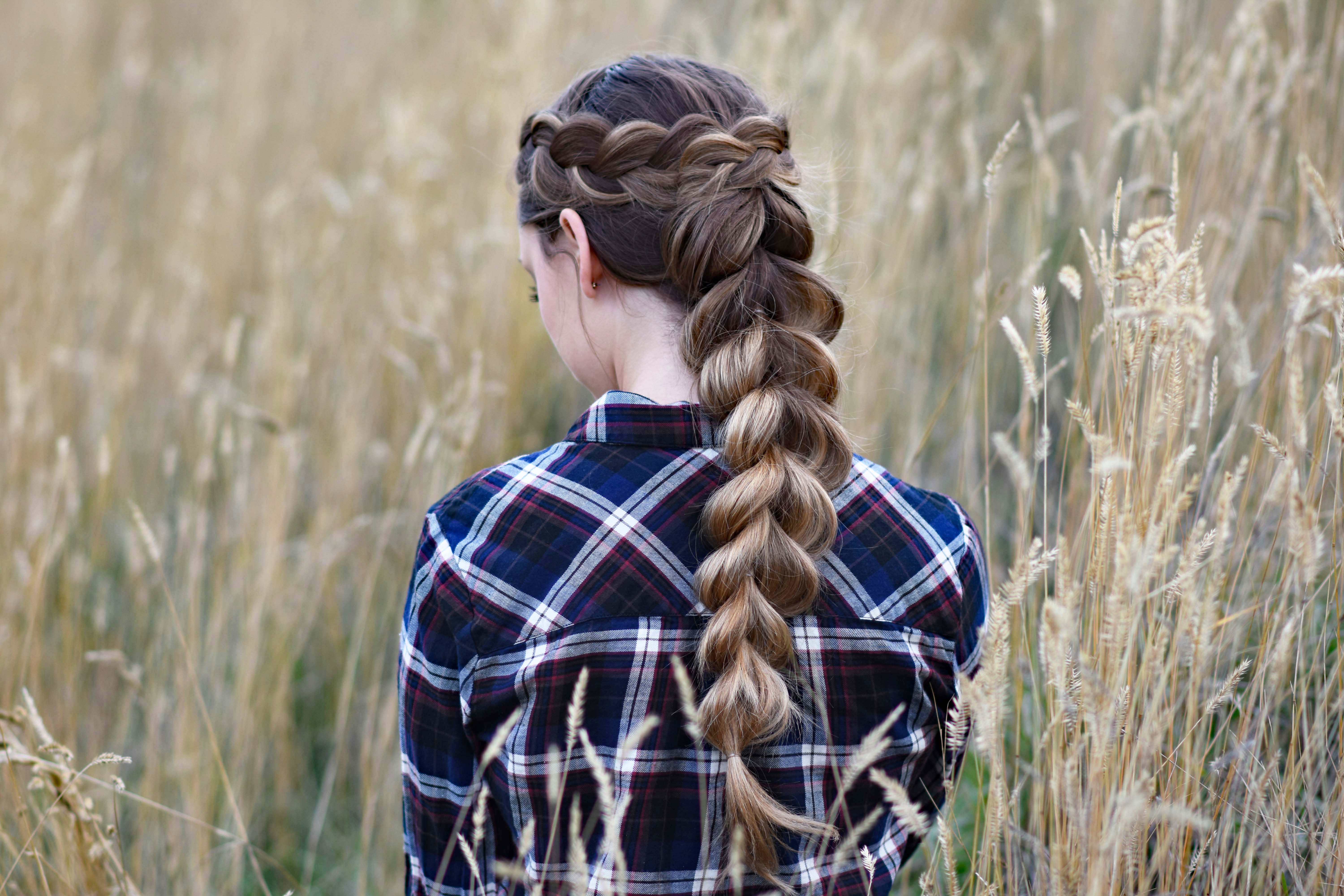 Wrapped Pull-Thru Braid