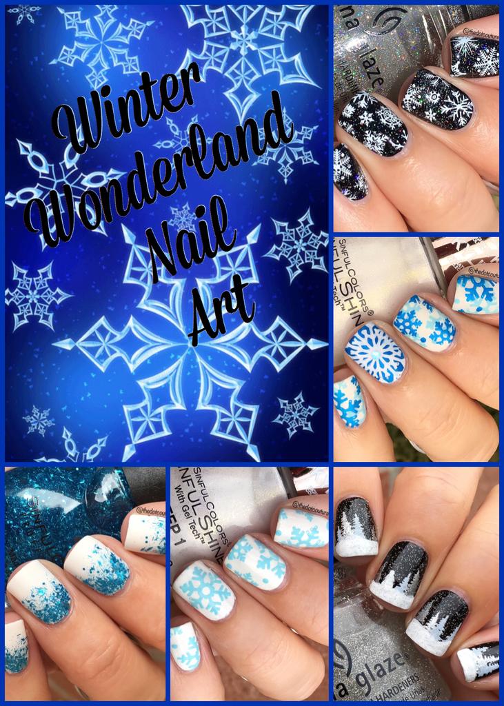 Winter Wonderland Nail Art Cute Girls Hairstyles