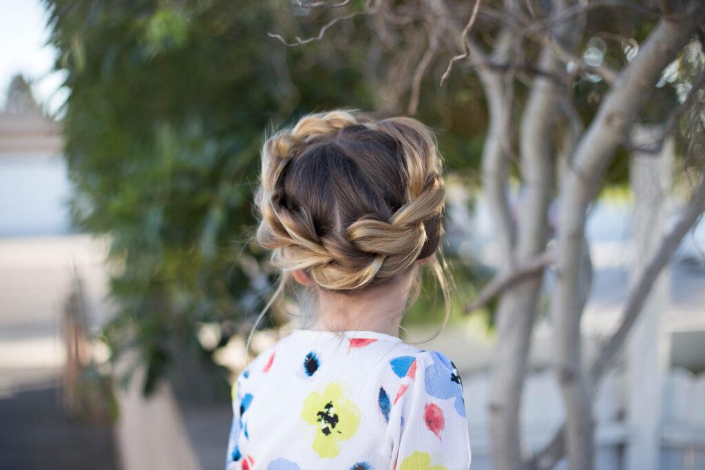 Pull Thru Crown Braid   Cute Girls Hairstyles