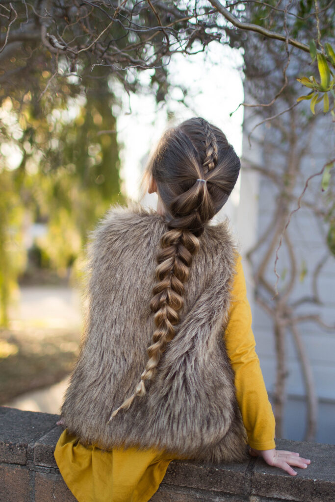 Dutch Pull thru Combo Braid | Cute Girls Hairstyles