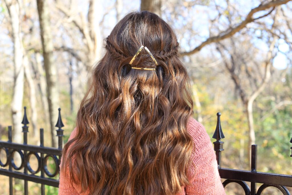 Barrette Tieback | Fishtail | Cute Girls Hairstyles