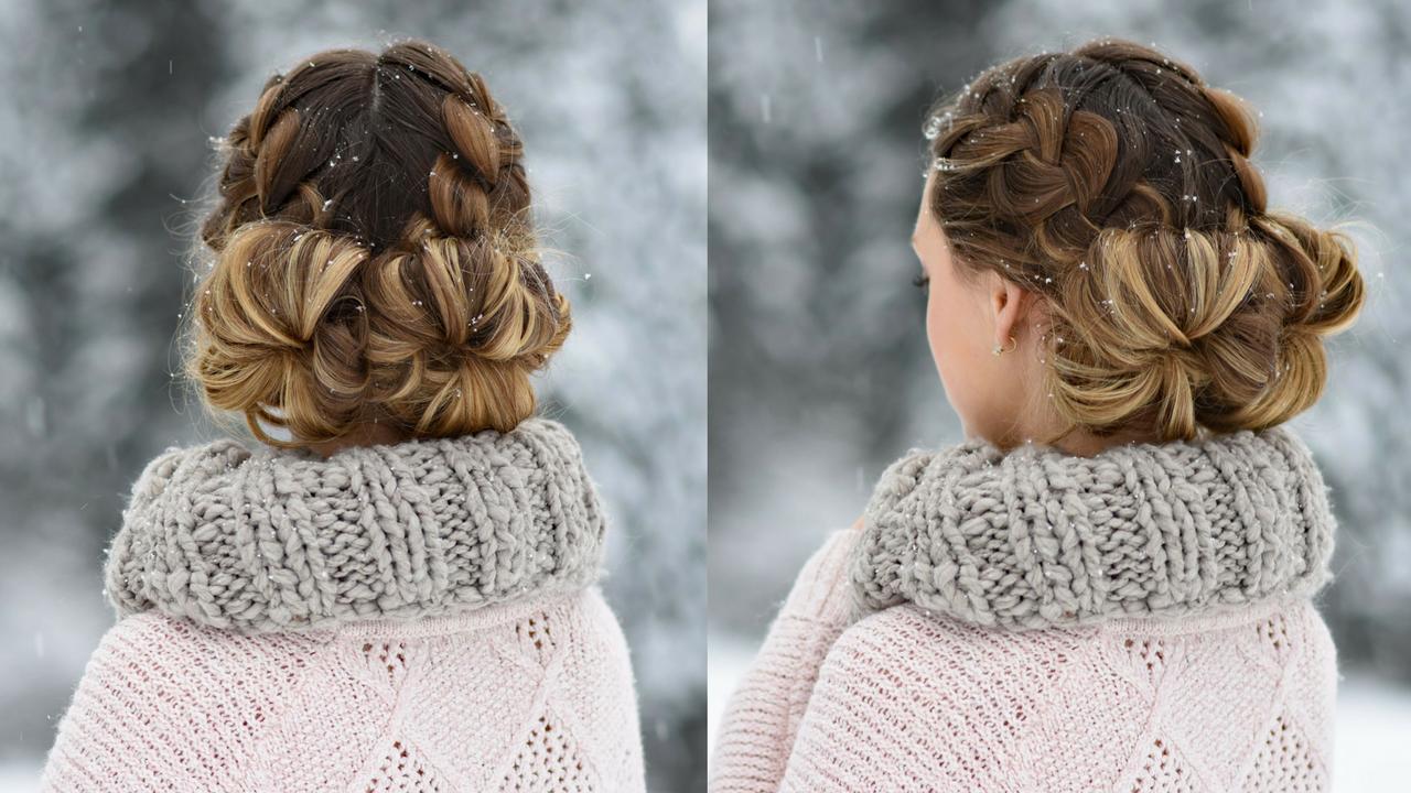 Amazing Double French Buns Cute Girls Hairstyles Schematic Wiring Diagrams Phreekkolirunnerswayorg