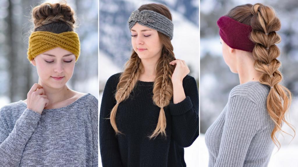 3 Easy Headband Hairstyles   Cute Girls Hairstyles