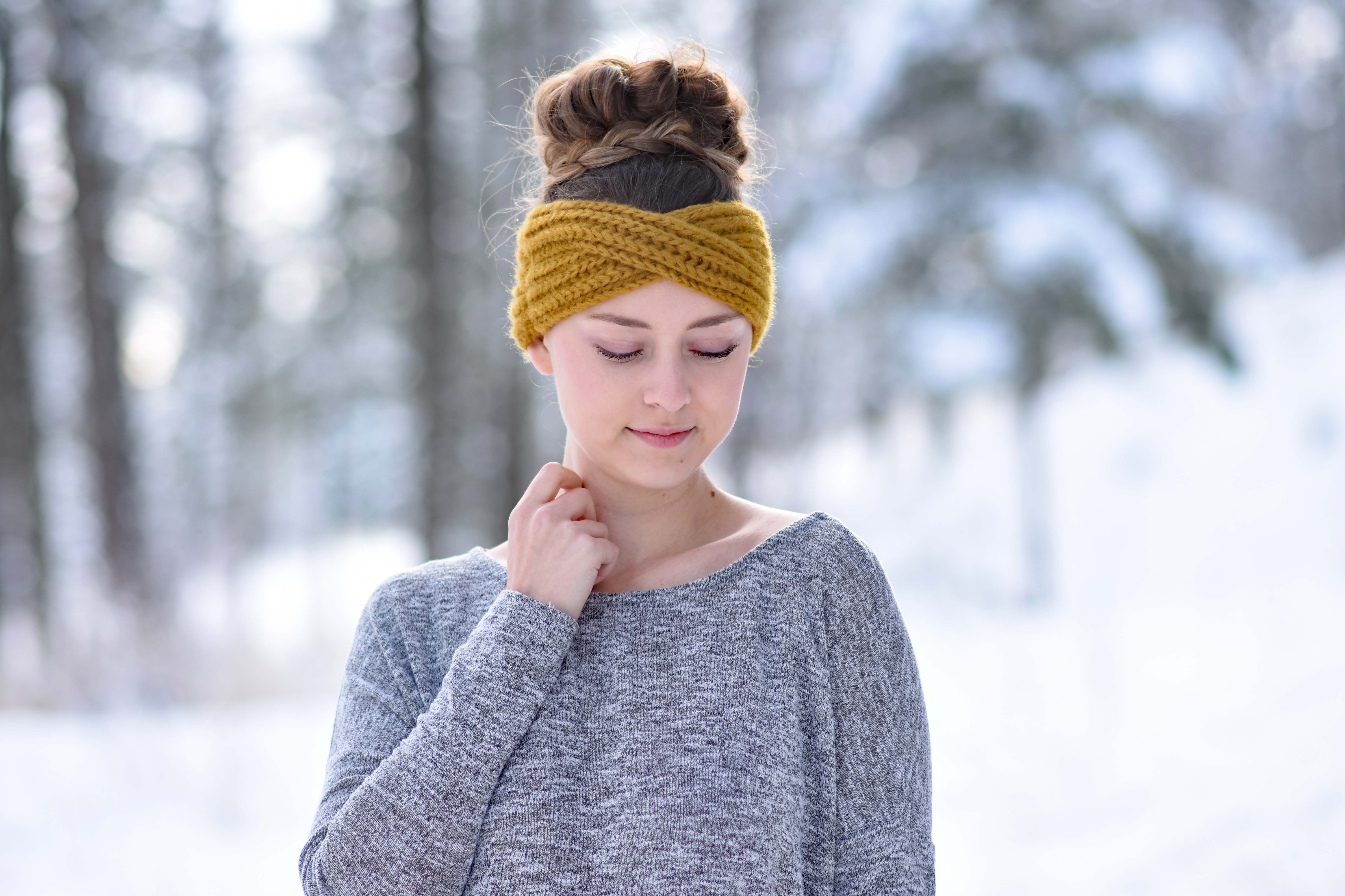Simple Hairstyles With Wool