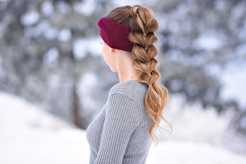 3 Easy Headband Hairstyles