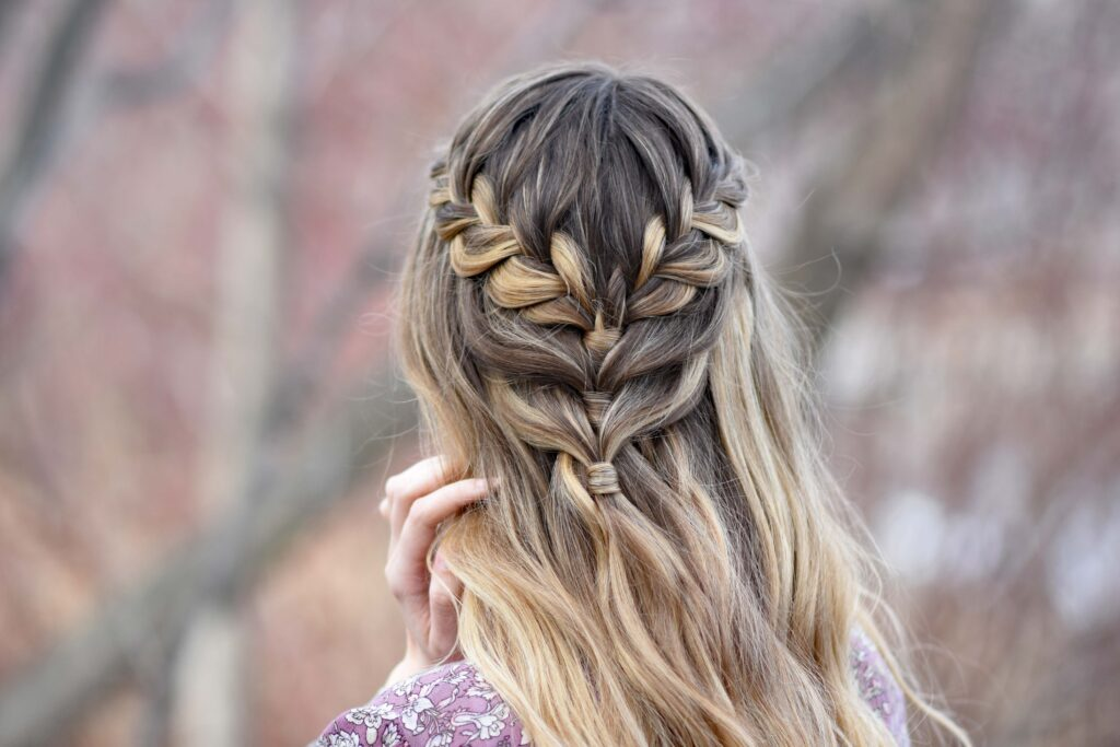 Lace Braid Half Up | Cute Girls Hairstyles