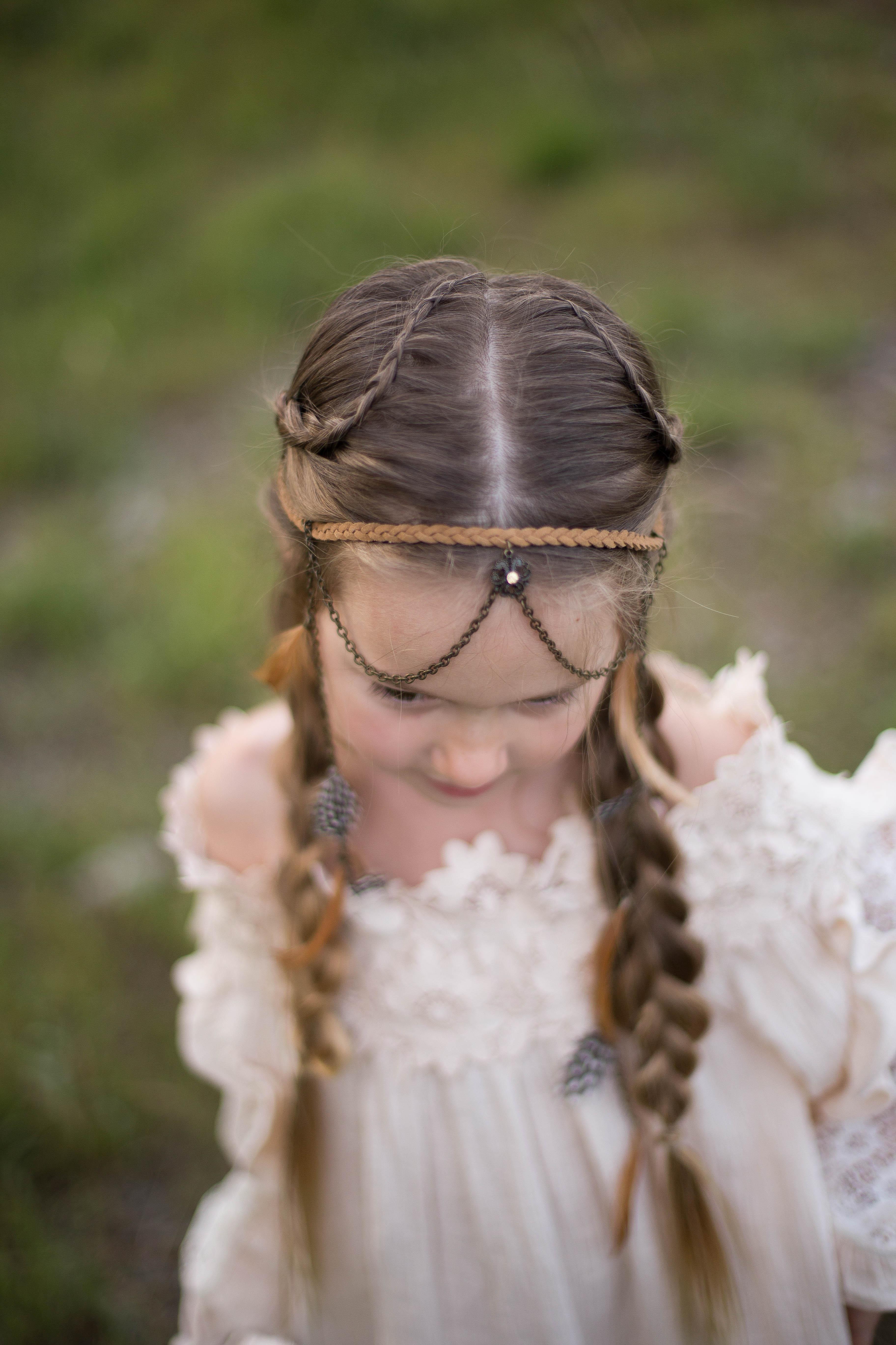Boho Side Braids - Cute Girls Hairstyles