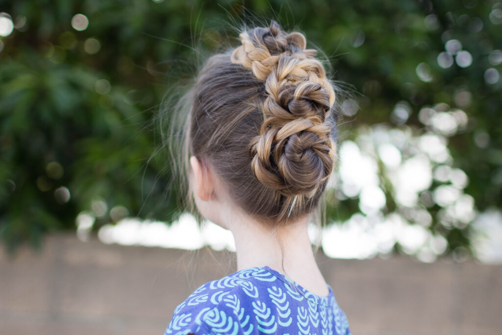 Triple Bun Updo | Cute Girls Hairstyles