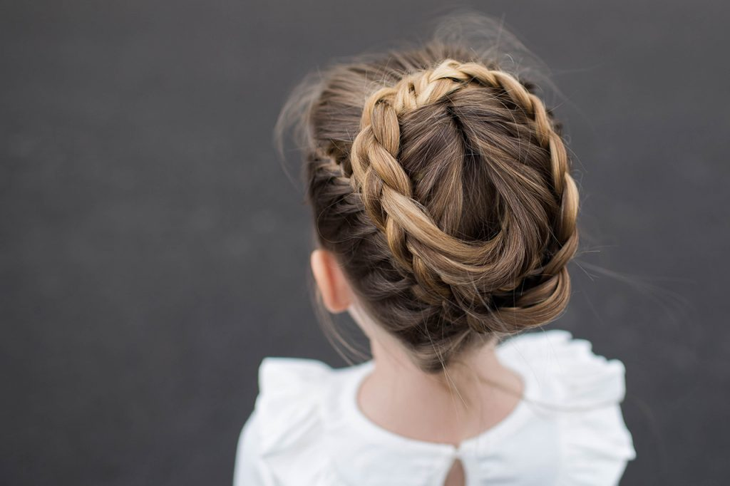 Halo Braid | Cute Girls Hairstyles