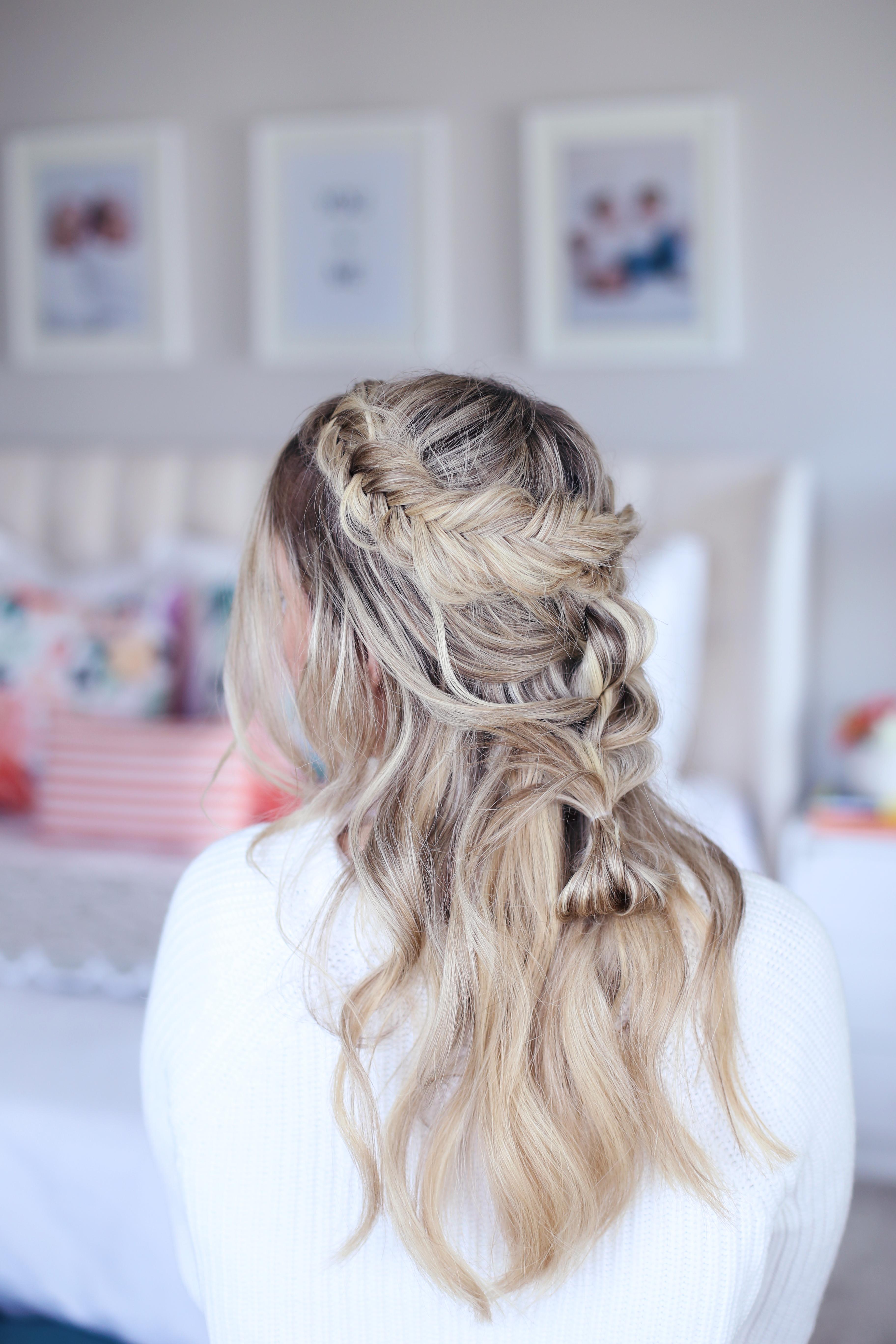 Mixed Braid Half Up | Cute Girls Hairstyles
