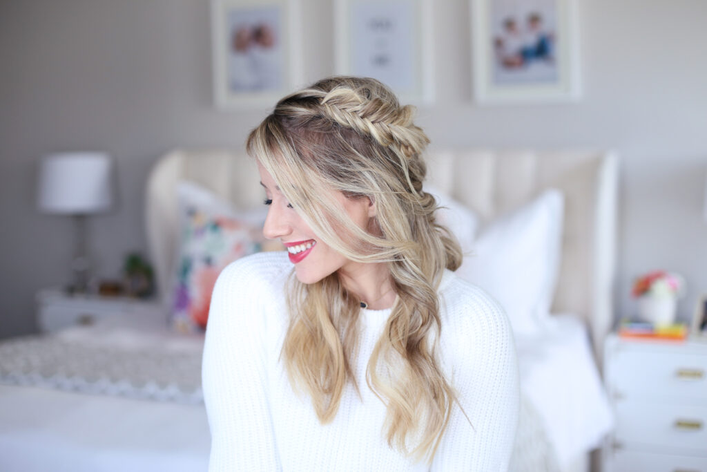 Mix Braid Half Up   Cute Girls Hairstyles