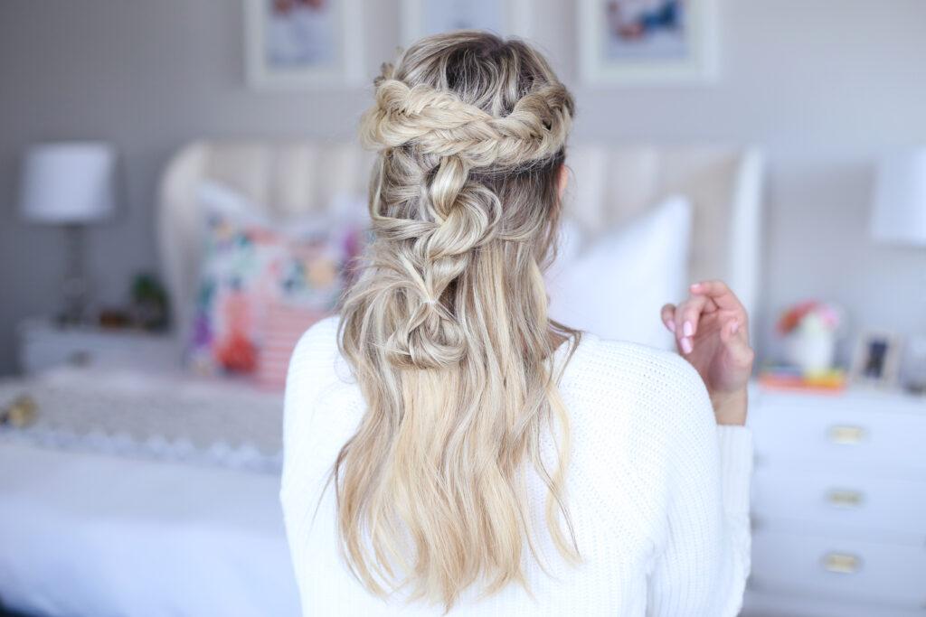 Mixed Braid Half Up   Cute Girls Hairstyles