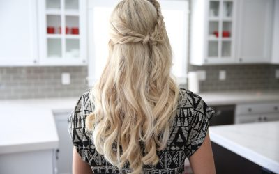 Half Up Side Braid